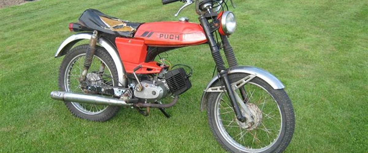 Puch Monza 3 Gear - 1978 - Cylinder og topstykke er male...