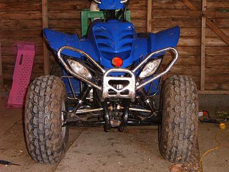 MiniBike 4hjulet crosser/ATV soldt - 2005 - Det er en lille sjov maskine ...
