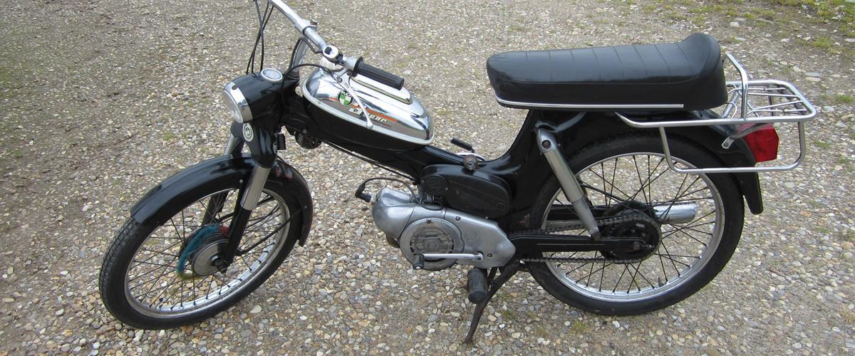 Puch ms 50 3 gear - 1972 - Da jeg fik den havde den bare...