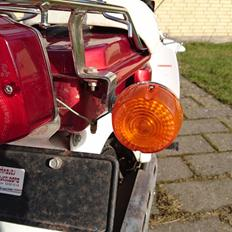 Suzuki  FZ50 SUZI metalicrød