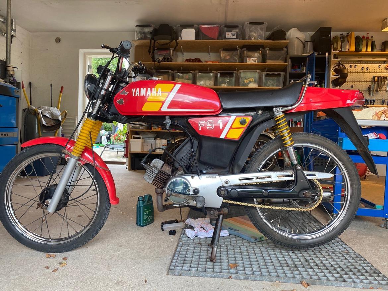 Yamaha FS1 (2 gear) billede 6