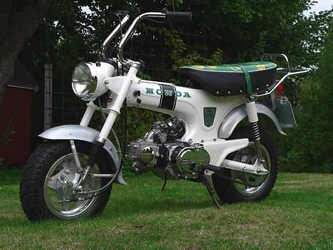 Honda DAX White  se videolink billede 14