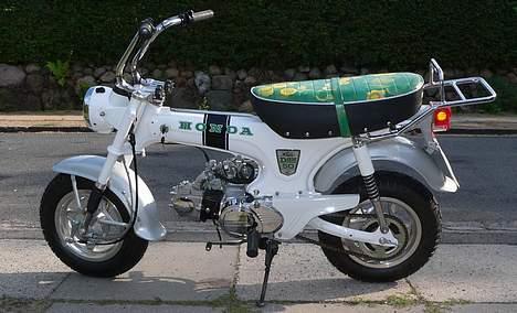 Honda DAX White  se videolink billede 17