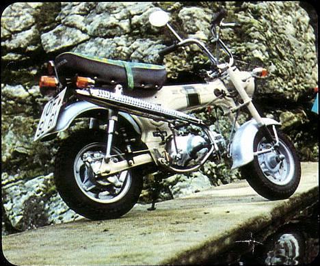 Honda DAX White  se videolink - Reklame fra 1974 billede 20