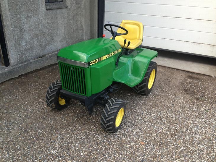 john deere 332 - Diverse traktor - Uploadet af christian P