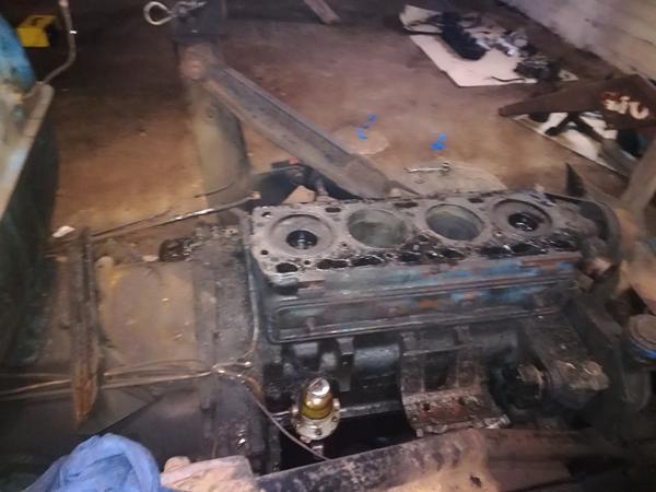 Afmontering af motor