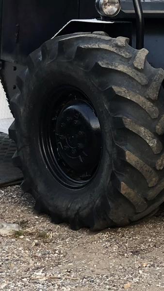 Dæk 16.9R24 dæktryk