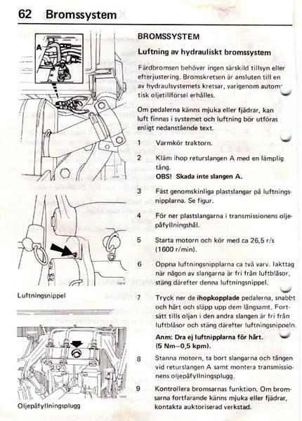 udluftning af bremser