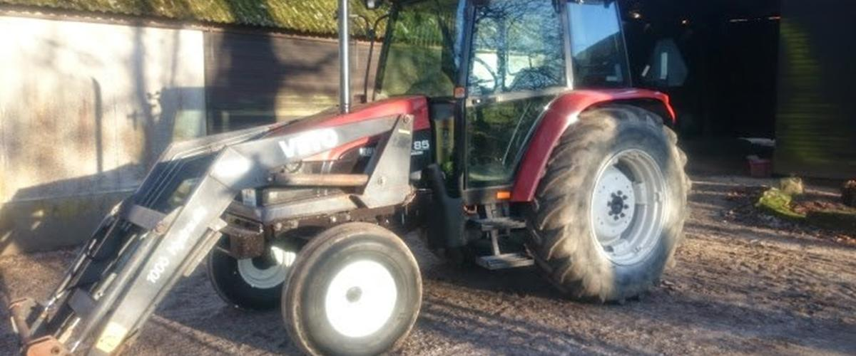 New Holland L85 - 1996 - Det er en fin lille traktor m...