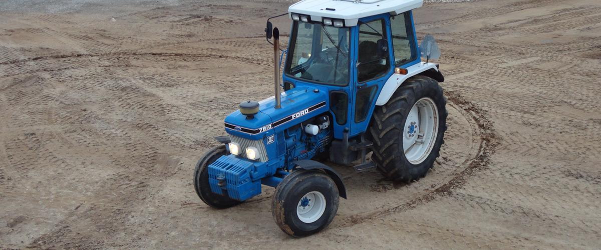 Ford 7810 Turbo - 1991 - det er en traktor som bare st...