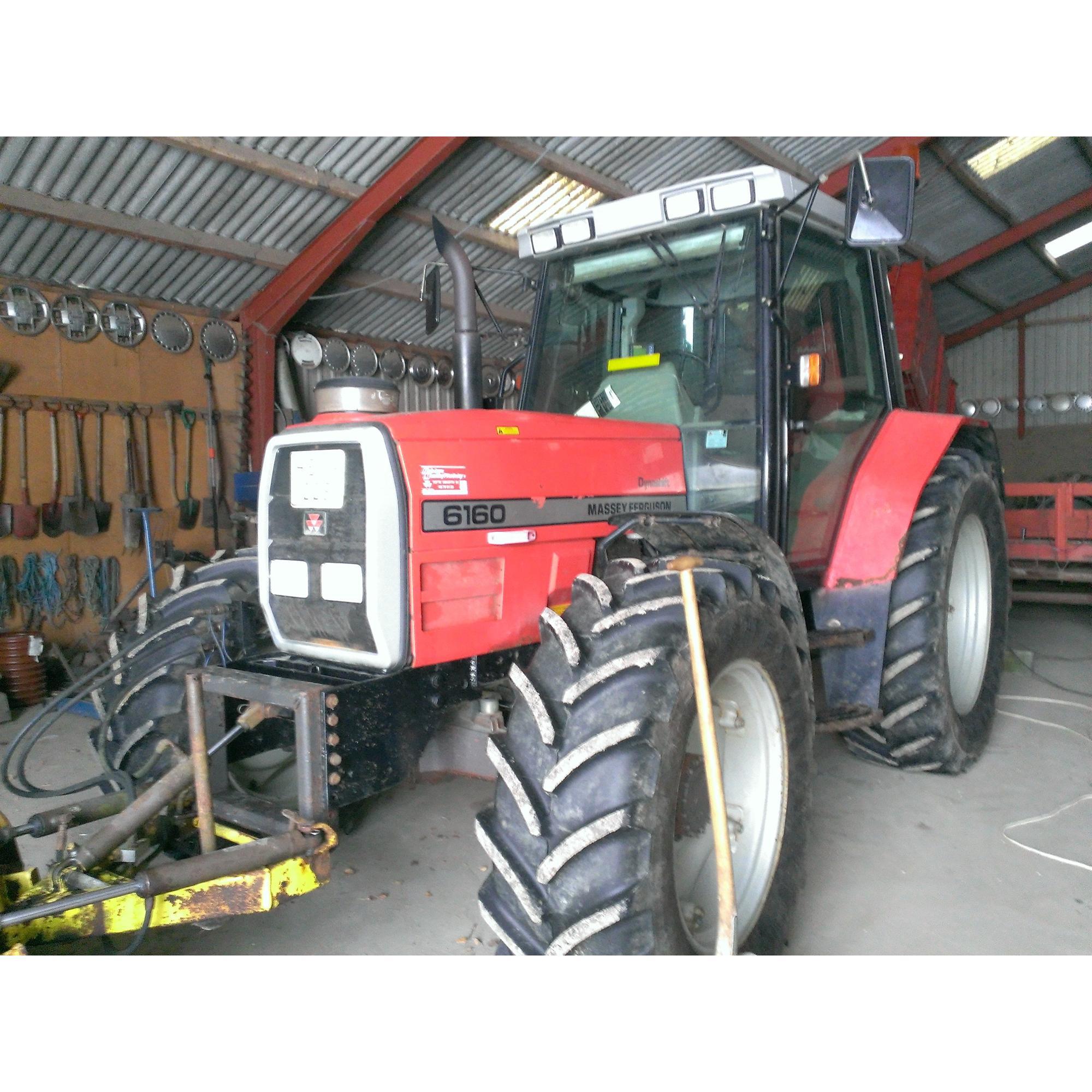 Massey Ferguson 6160 dynashift - 1997 - rigtig lækker traktor, som ha