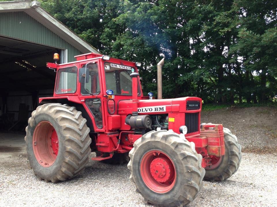 "volvo bm 814 ""volle 1"" - 1978 - super fed traktor fra volvo b"