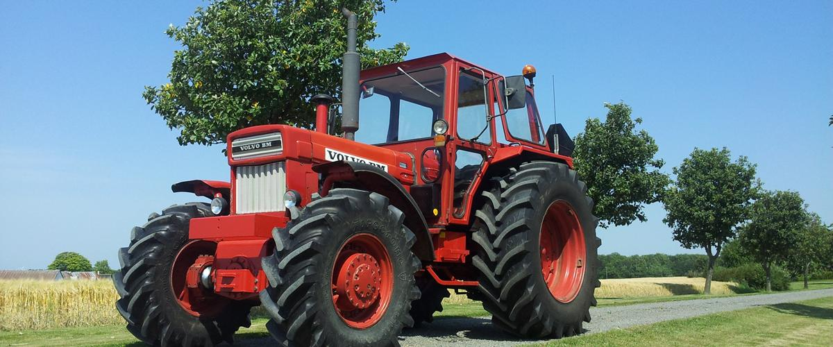 Volvo BM 814 - 1977 - Stor og utrolig stærk traktor...