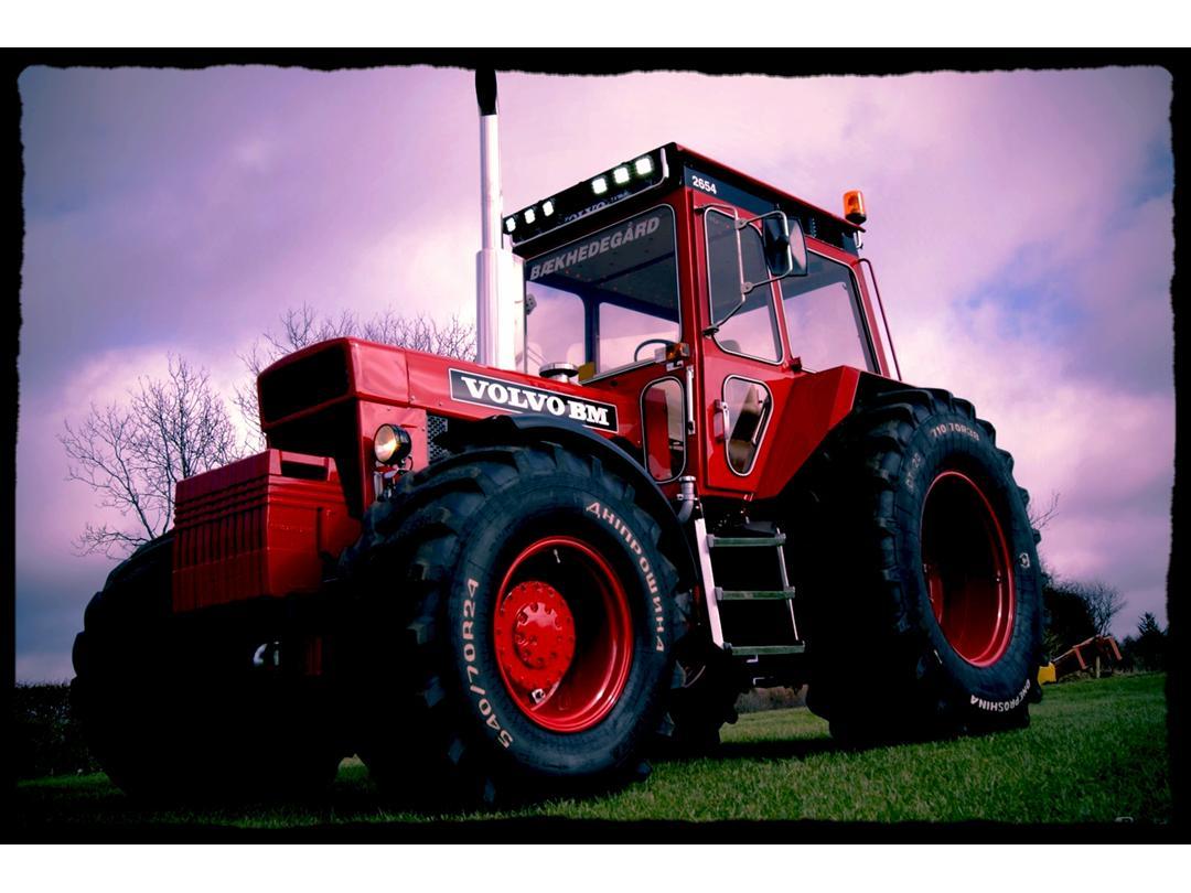 traktor krog op